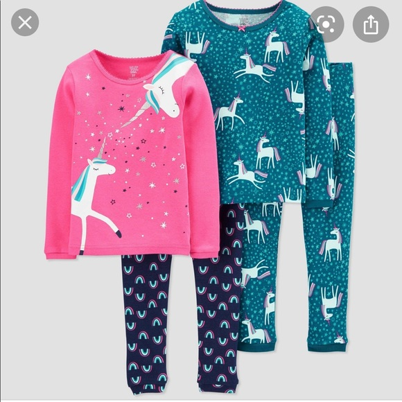 Just One You Made by Carter/'s 3 Piece PJ Set Size 5T NWT!!